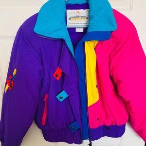 1990s Vintage Obermeyer ski fashion jacket